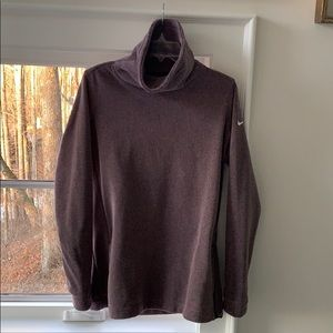 Nike pullover with big neck, Size M
